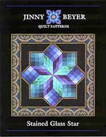 Jinny Beyer Stained Glass Star